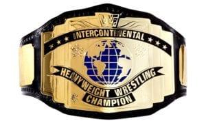 WWF Intercontinental Championship - WWE - IC - Belt - Title