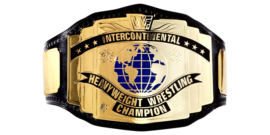 WWF Intercontinental Championship - WWE - IC - Belt - Title
