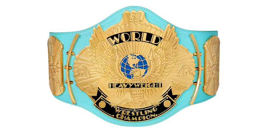 WWF WWE World Heavyweight Championship Title Belt Champion