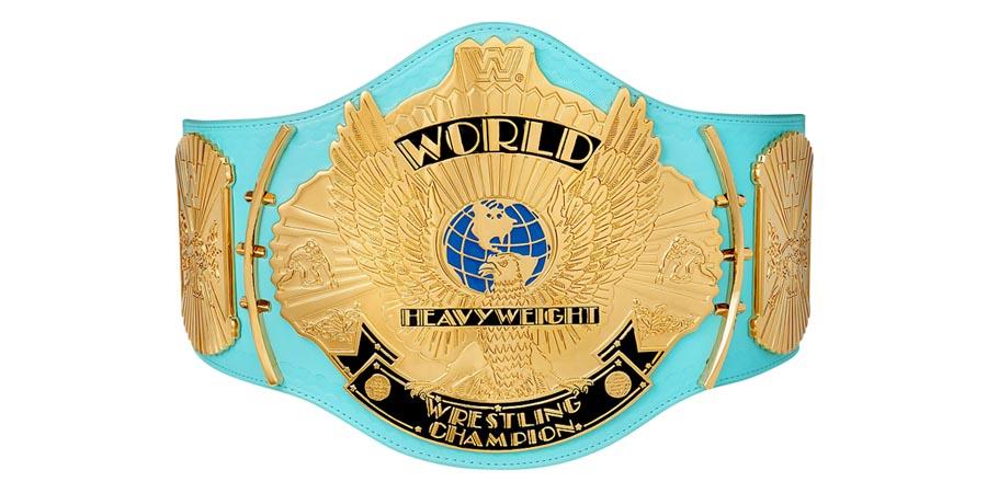 WWF WWE World Heavyweight Championship Title Belt Champion