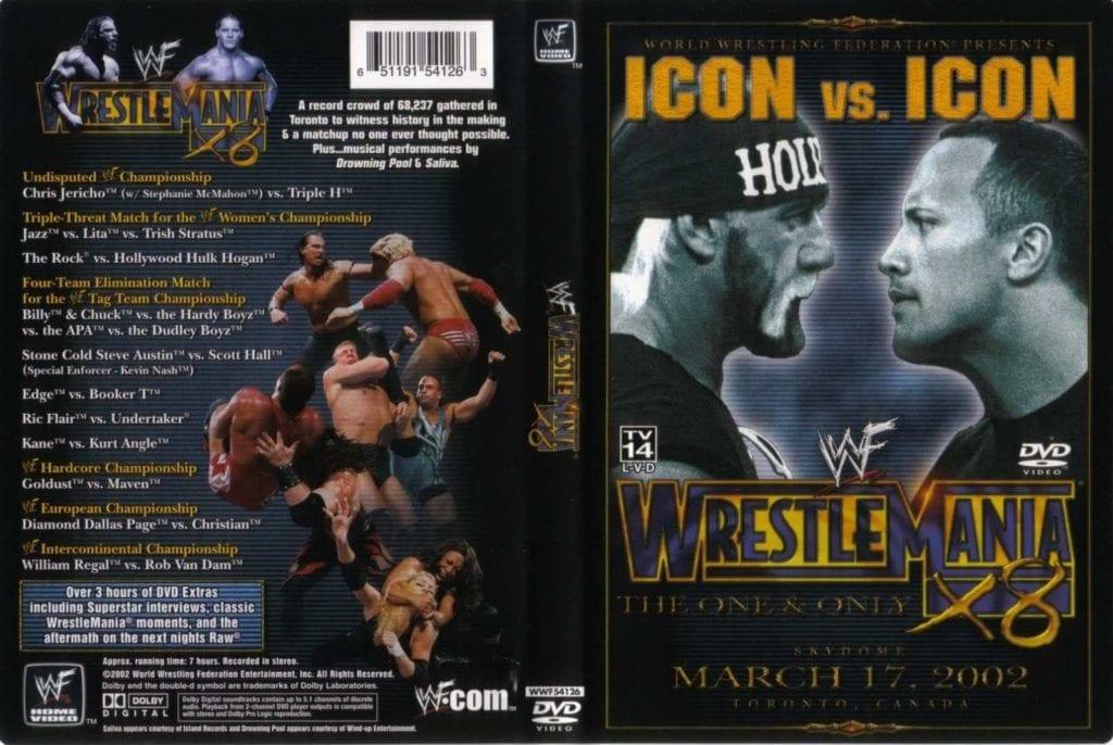 WrestleMania 18 DVD Cover