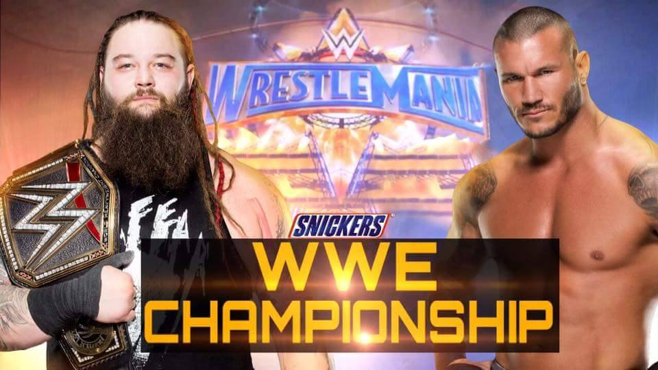 WrestleMania 33 - Bray Wyatt vs. Randy Orton for the WWE Championship