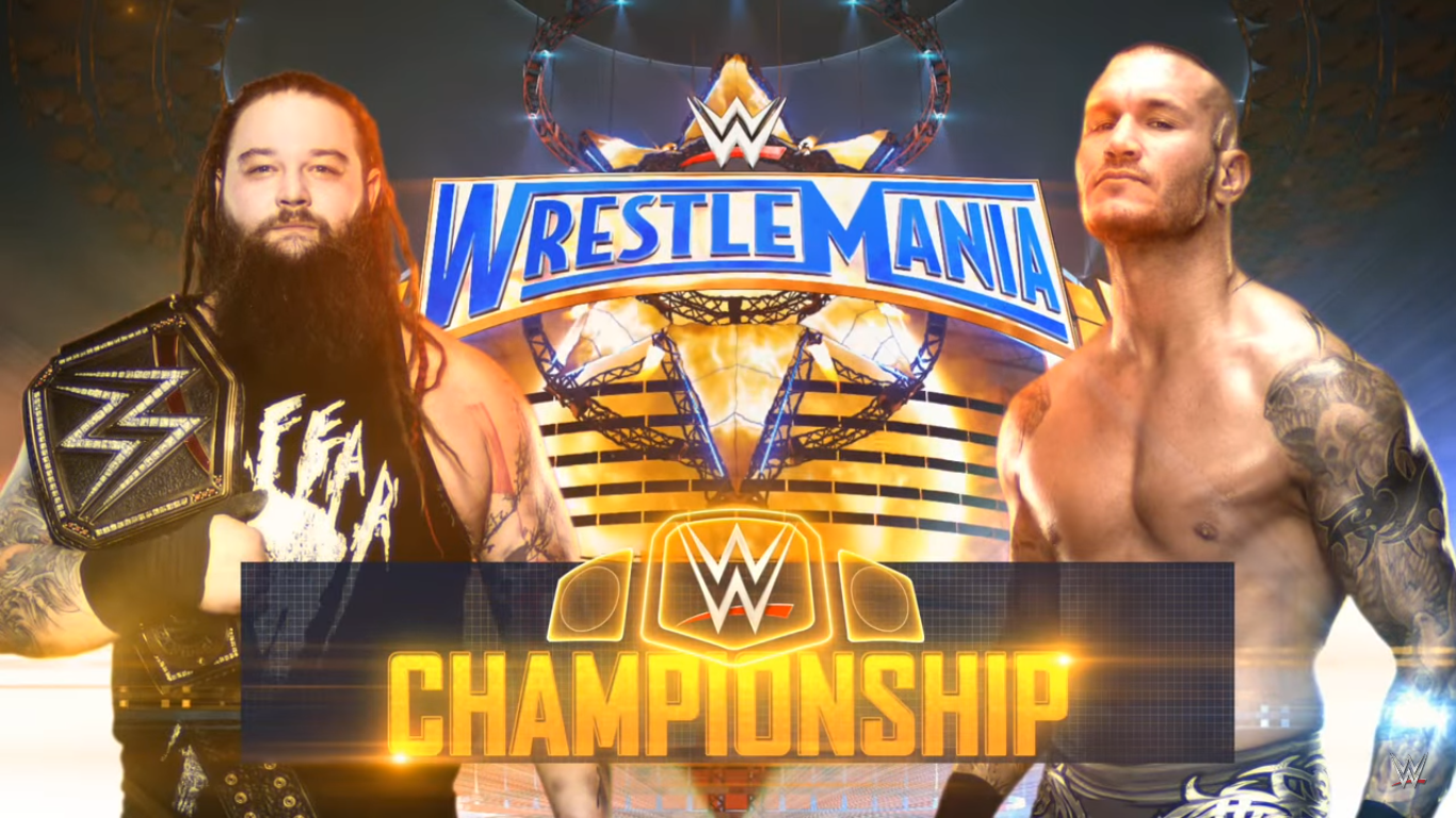 WrestleMania 33 - Bray Wyatt vs. Randy Orton for the WWE World Heavyweight Championship