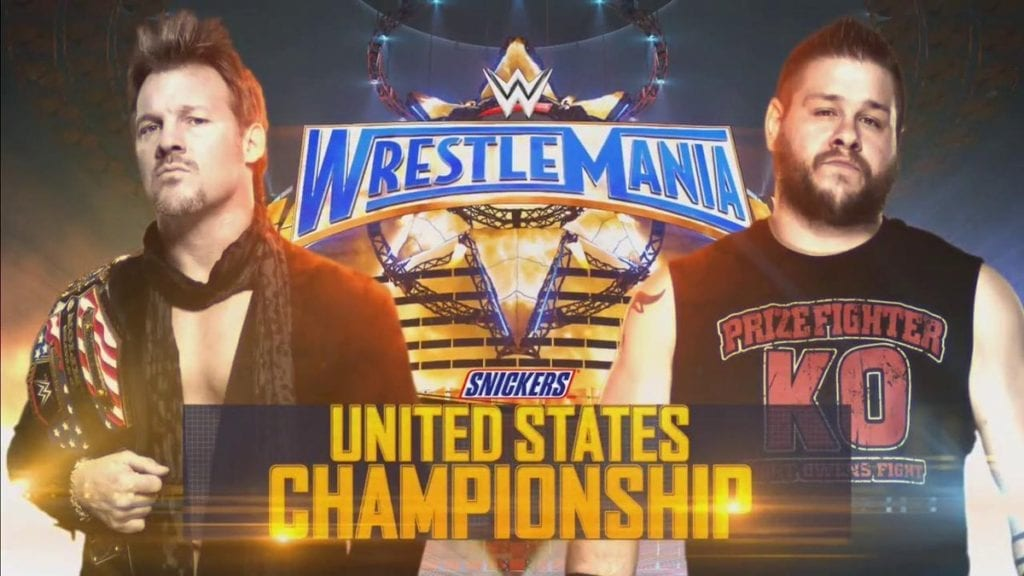 WrestleMania 33 - Chris Jericho vs. Kevin Owens for the United States Championship