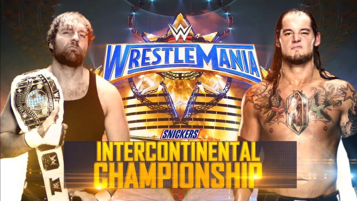 WrestleMania 33 - Dean Ambrose vs. Baron Corbin for the WWE Intercontinental Championship