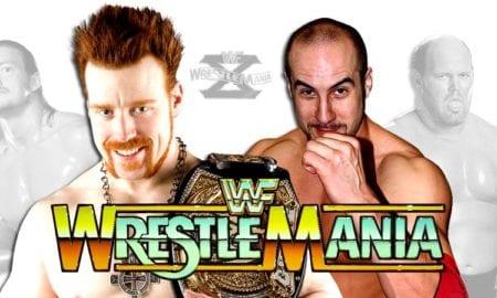 WrestleMania 33 - Luke Gallows & Karl Anderson vs. Cesaro & Sheamus vs. Enzo Amore & Big Cass for the Raw Tag Team Championship