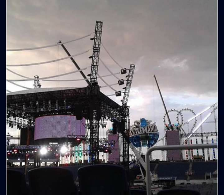WrestleMania 33 Set Final Look