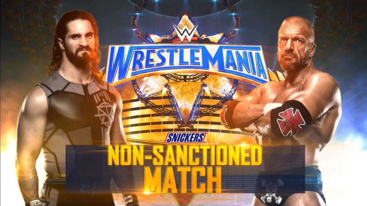 WrestleMania 33 - Seth Rollins vs. Triple H (Non-Sanctioned Match)