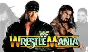 WrestleMania 33 - The Undertaker vs. Roman Reigns (The Phenom vs. The Big Dog)