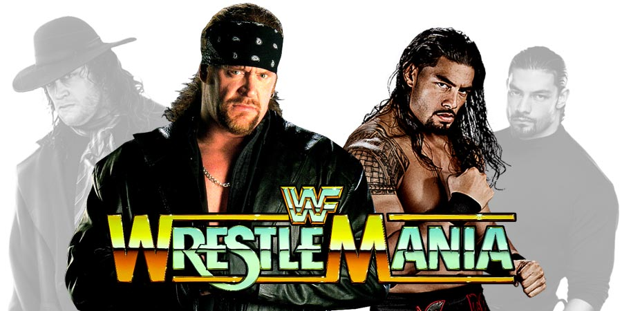 WrestleMania 33 - The Undertaker vs. Roman Reigns (The Phenom vs. The Big Dog)