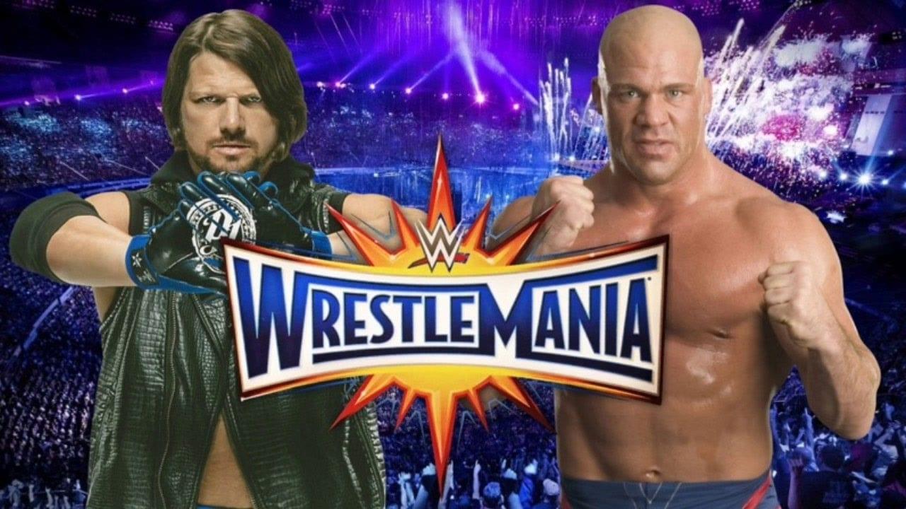 Kurt Angle wants to main event WrestleMania with AJ Styles