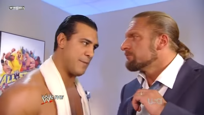 Alberto Del Rio Thinks The Pussies In WWE & Triple H Are Responsible For The Leak Of Paige's Private Photos & Videos
