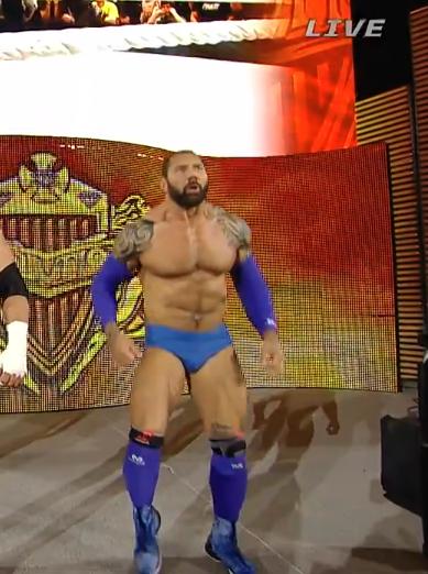 Batista as Bluetista at Payback 2014