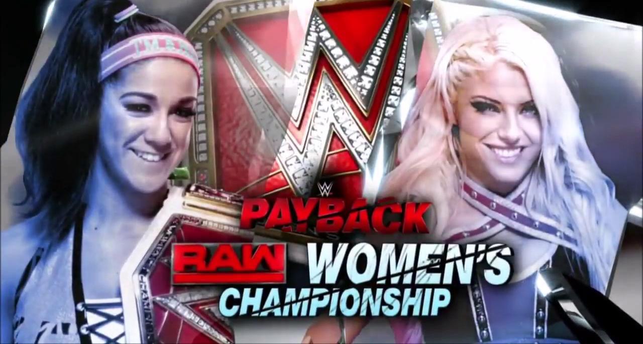Bayley vs. Alexa Bliss - Payback 2017 (Raw Women's Championship)