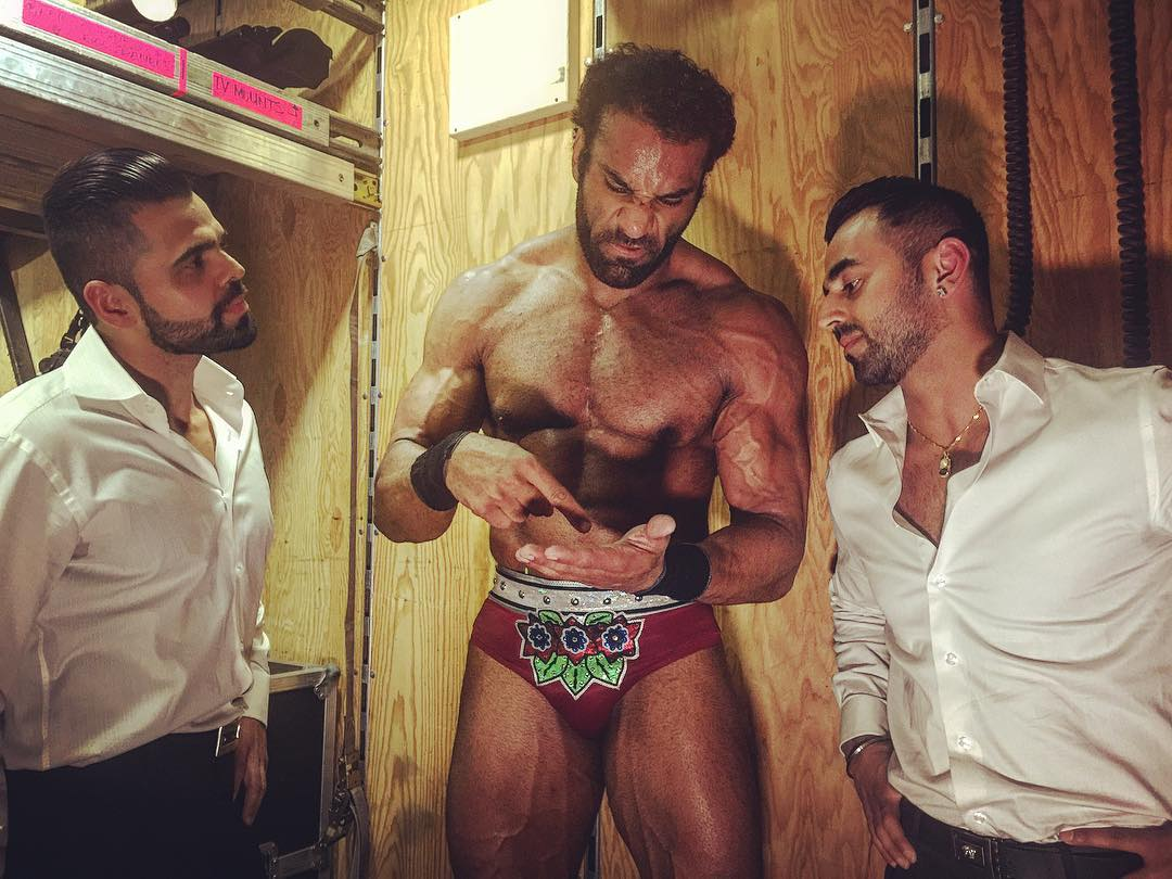 Bollywood Boyz (now known as Singh Brothers) helped Jinder Mahal to become the #1 contender for the WWE Championship on SmackDown Live