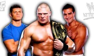 Brock Lesnar, Cody Rhodes, Alberto Del Rio