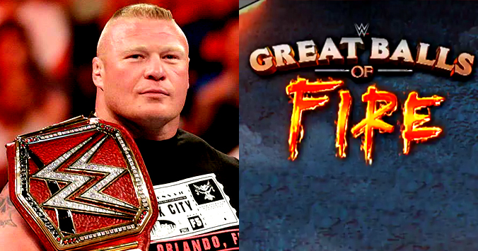 Brock Lesnar to defend the WWE Universal Championship at WWE Great Balls of Fire 2017 PPV