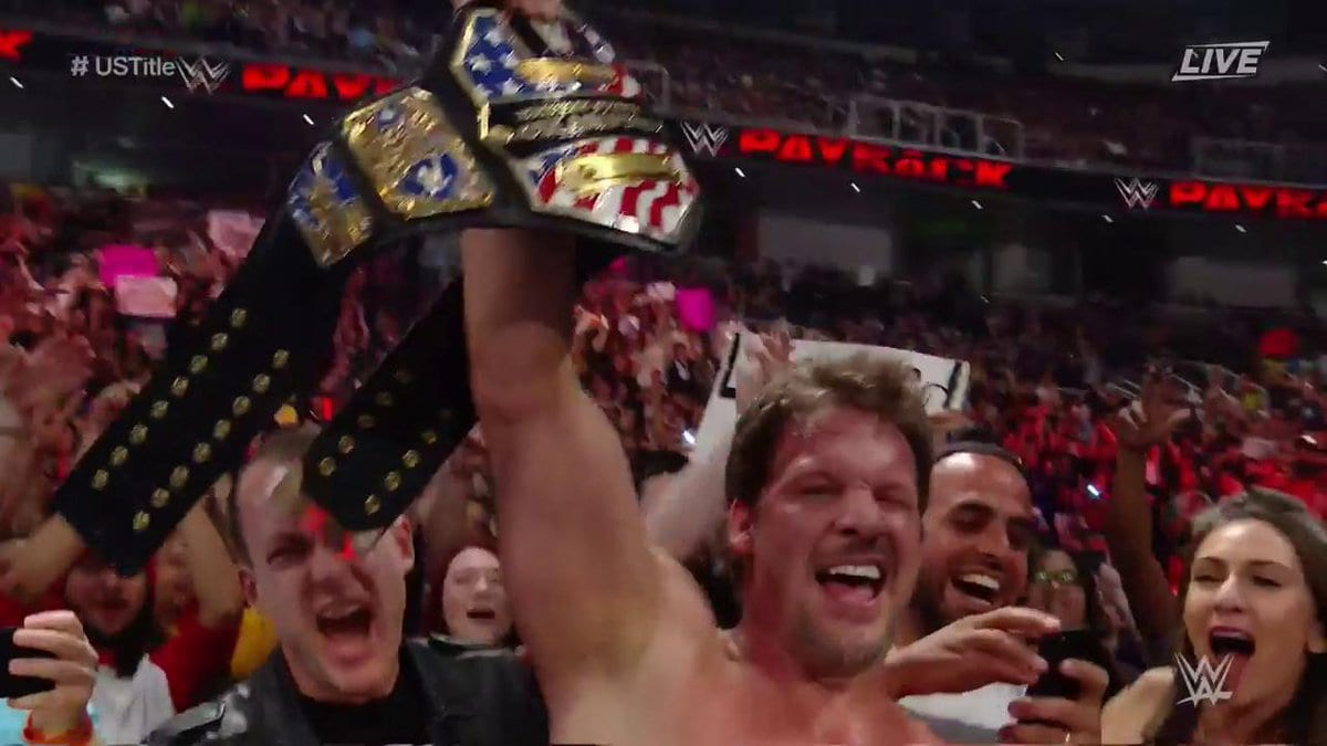 Chris Jericho wins the United States Championship at Payback 2017