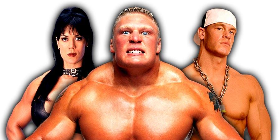 Chyna, Brock Lesnar, John Cena