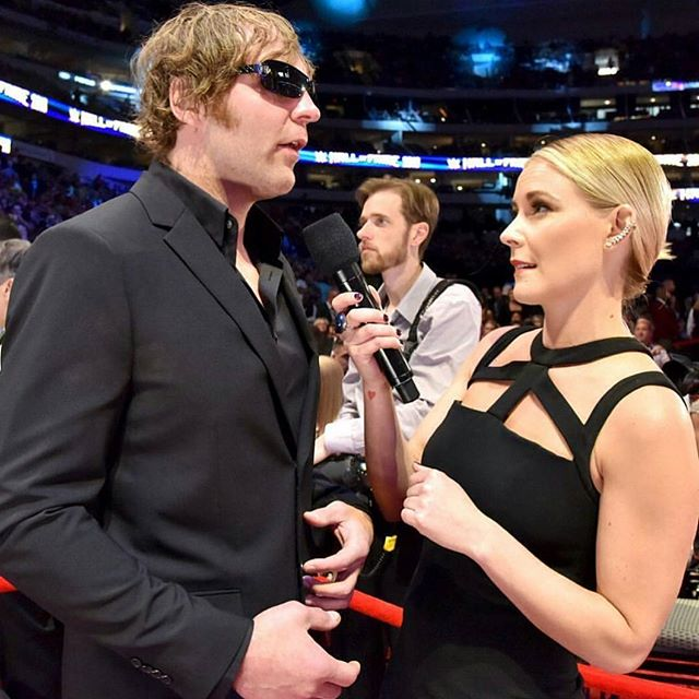 Dean Ambrose and Renee Young are married to each other now - Dean Ambrose & Renee Young tie the knot