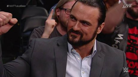 Drew McIntyre appears at NXT TakeOver: Orlando
