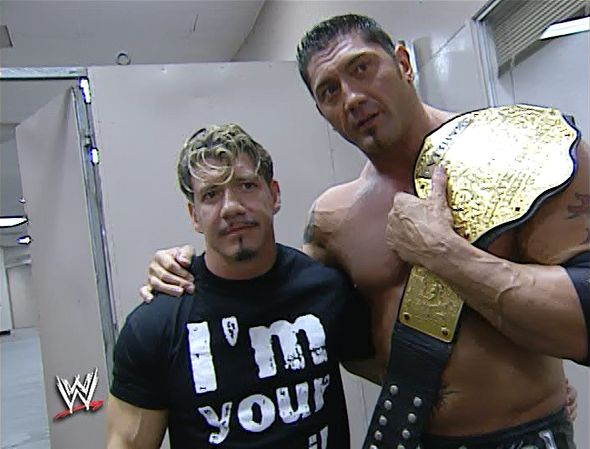 Eddie Guerrero & Batista ( World Heavyweight Champion)