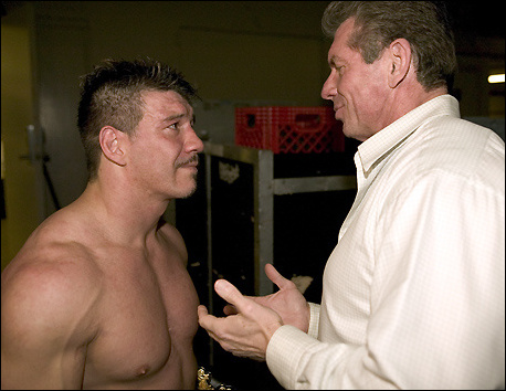 Eddie Guerrero met Vince McMahon several times before he left WCW
