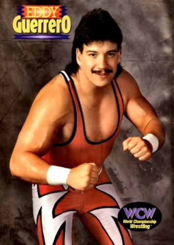 Eddie Guerrero wrestled as a Jobber for WCW in 1989