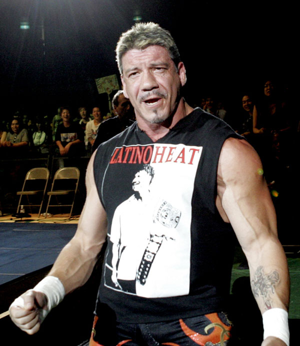 Eddie Guerrero spells his own name as Eddy