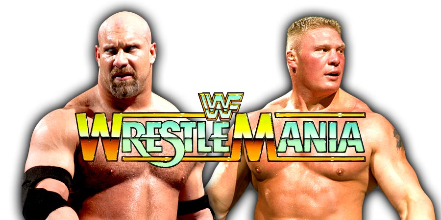 Goldberg vs. Brock Lesnar III - WrestleMania 33