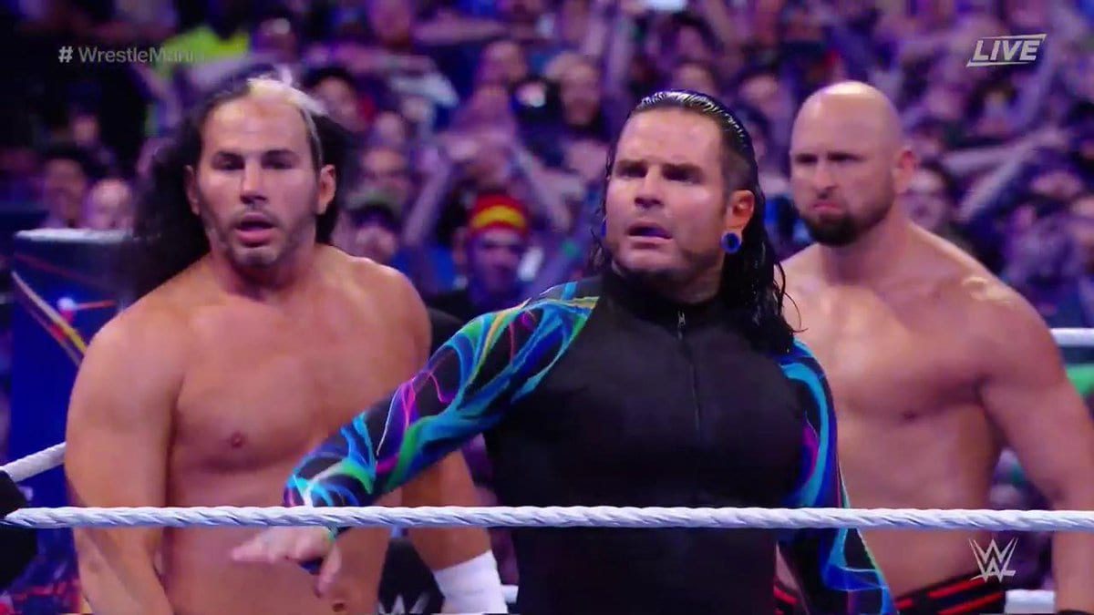 Hardy Boyz return at WrestleMania 33