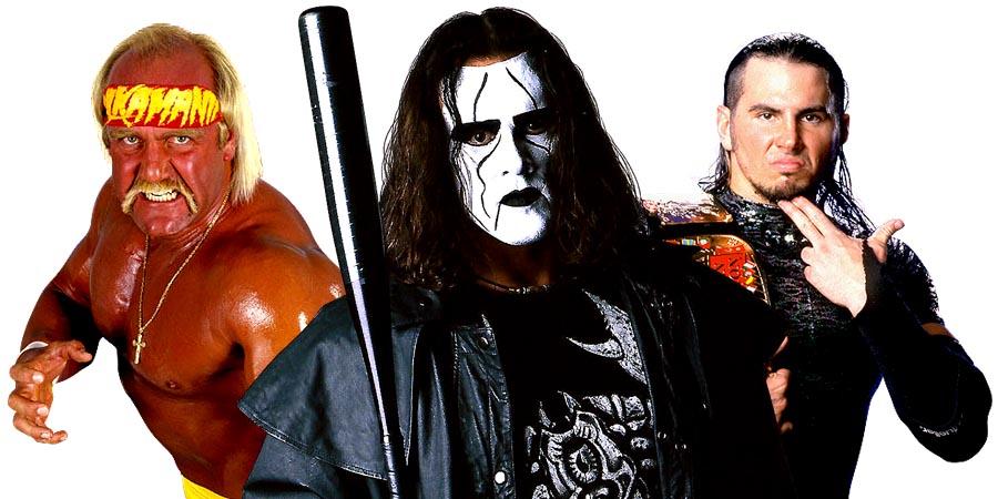 Hulk Hogan, Sting, Matt Hardy