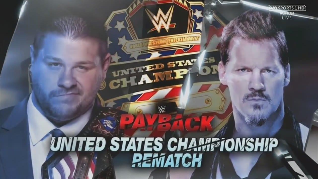 Kevin Owens vs. Chris Jericho - Payback 2017 (United States Championship)