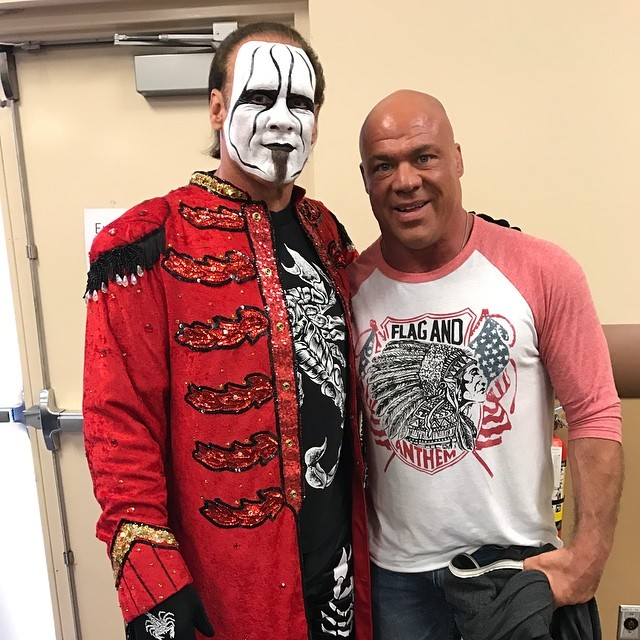 Kurt Angle Calls Sting The Greatest Of All Time