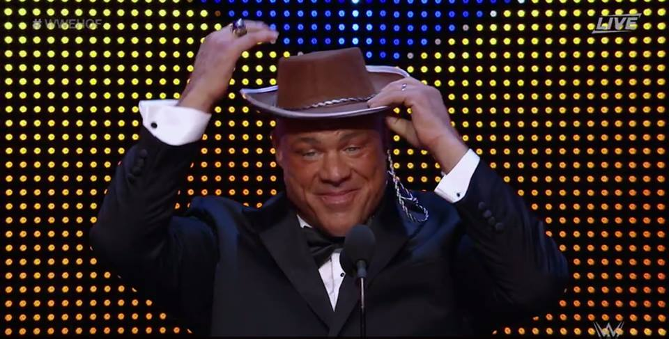 Kurt Angle Hat - WWE Hall of Fame Class of 2017