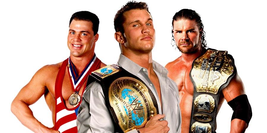 Kurt Angle, Randy Orton, Bobby Roode