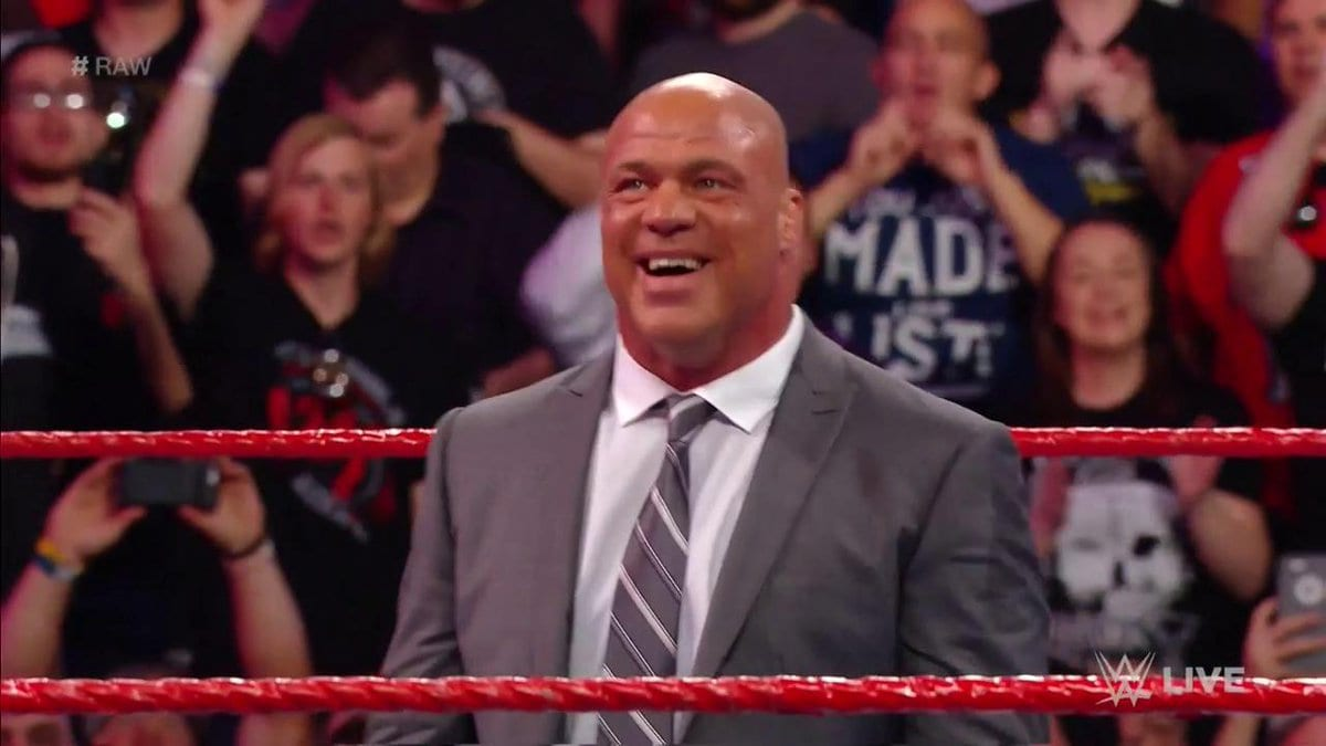 Kurt Angle announced as the new Raw General Manager on Raw After WrestleMania 33