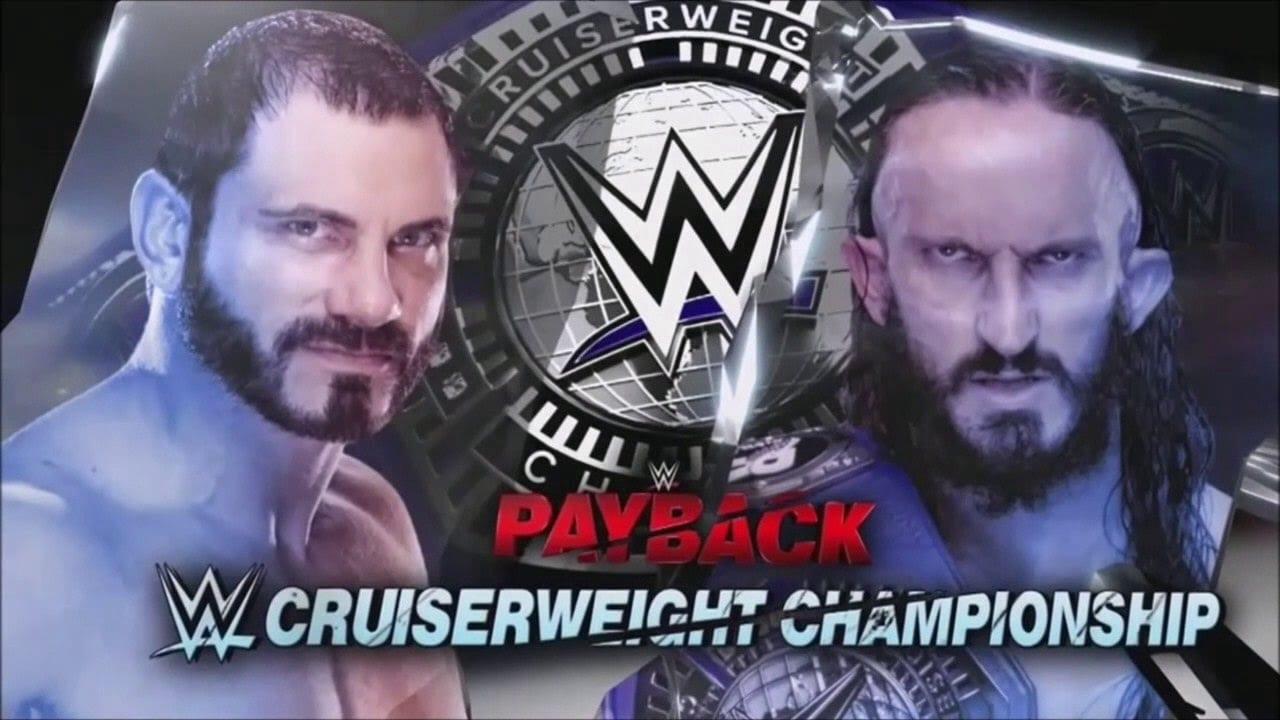 Neville vs. Austin Aries - Payback 2017 (WWE Cruiserweight Championship)