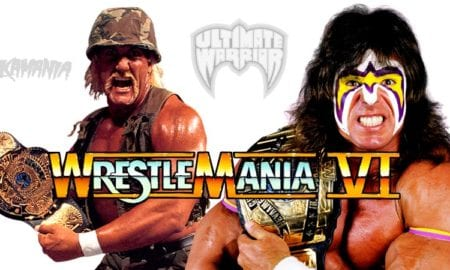 On This Day In Pro Wrestling History (April 1, 1990) - Hulk Hogan & The Ultimate Warrior Collide In The Ultimate Challenge At WrestleMania VI