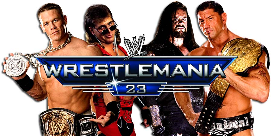 On This Day In Pro Wrestling History (April 1, 2007) - The Battle of the Billionaires, John Cena vs. Shawn Michaels, The Undertaker vs. Batista At WrestleMania 23