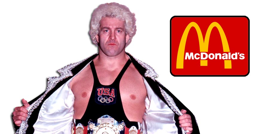 On This Day In Wrestling History (April 6, 1984) - Masa Saito and Ken Patera Go Nuts At McDonald's