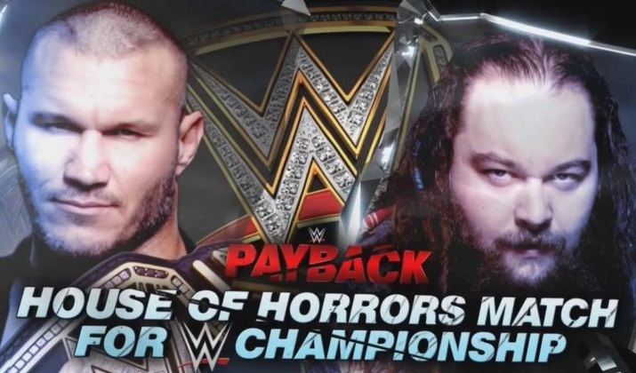 Randy Orton not defending the WWE Championship in the House of Horrors match against Bray Wyatt at Payback 2017