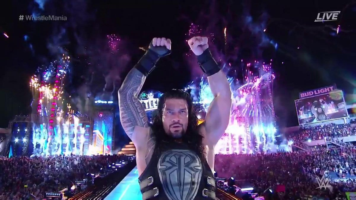 Roman Reigns defeats The Undertaker at WrestleMania 33