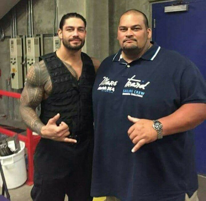 Roman Reigns with his brother Rosey - Rosey passes away at the age of 47
