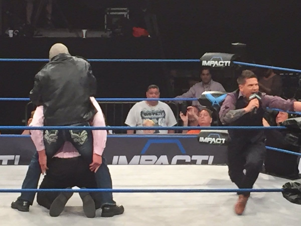 Scott Steiner returns to Impact Wrestling 2017 - 3