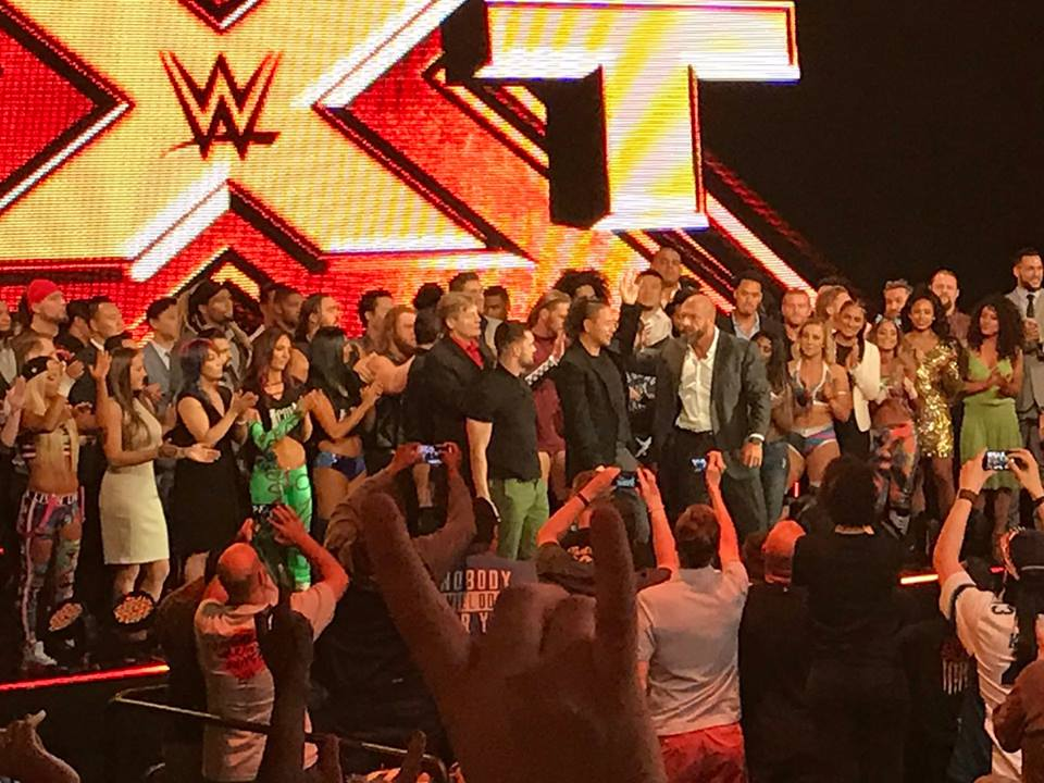 Shinsuke Nakamura NXT Farewell segment