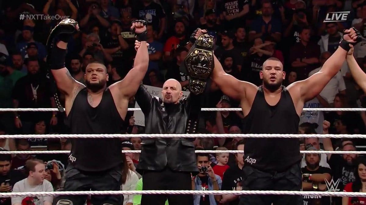 The Authors of Pain retain the NXT Tag Team Titles at NXT TakeOver: Orlando