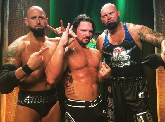 The Club re-uniting in WWE after Superstar Shake-Up (AJ Styles, Luke Gallows & Karl Anderson)