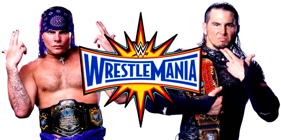 The Hardy Boyz return at WrestleMania 33 and win the Raw Tag Team Titles