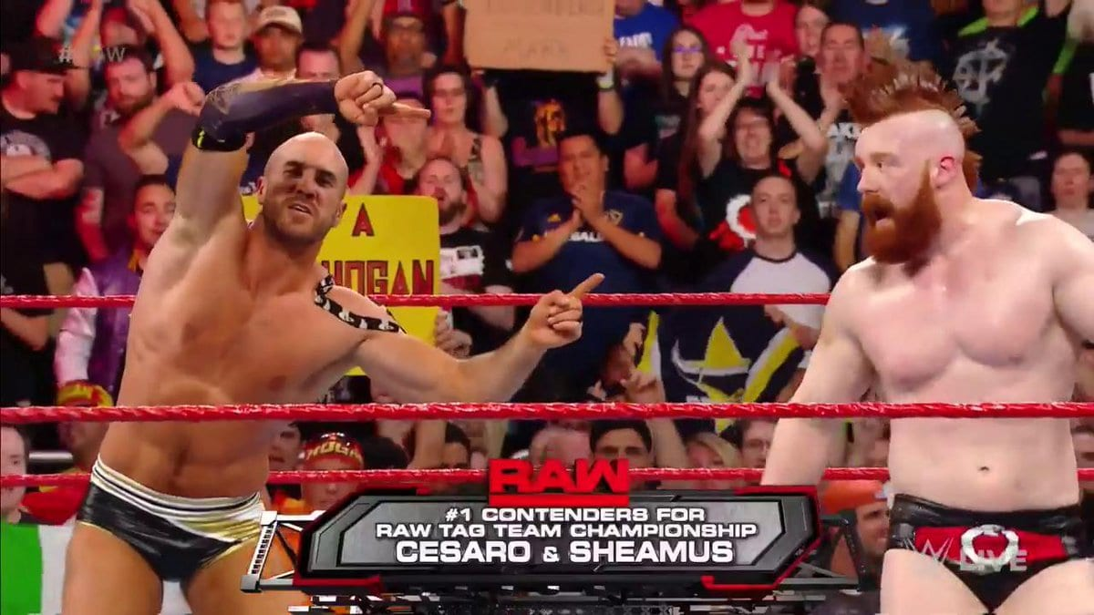 The Hardy Boyz vs. Cesaro & Sheamus for the Raw Tag Team Championship is expected to take place at WWE Payback 2017